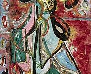Pollock Moon Woman 1942