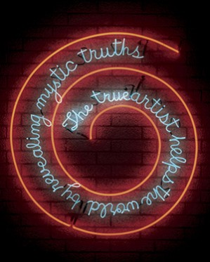 Bruce Nauman is one of the post-WWII artists at the forefront of creating a cross-media artistic vocabulary. I have produced two exhibitions and a publication on the artist's work that grapple with the questions of media and communication in his work.