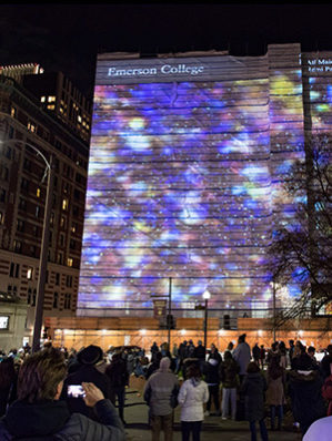 As the Foster Chair in Contemporary Art and the Distinguished Curator-in-Residence, I curate public arts events and installations for Emerson College, Boston. Click here for more information on the Public Arts Programs at Emerson College.